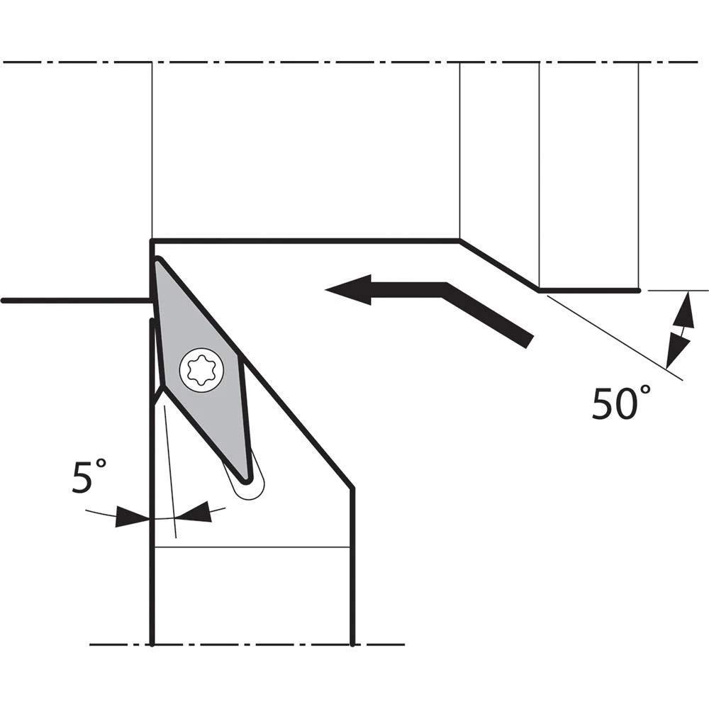 Indexable Turning Holder Kyocera SVLPL 82JXFF