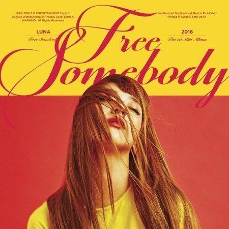LUNA f(x) - Free Somebody (1st Mini Album) CD with Folded Poster ()