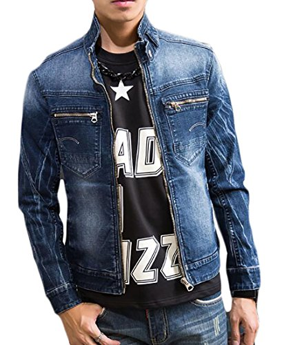 Zip Front Jean Jacket - 5