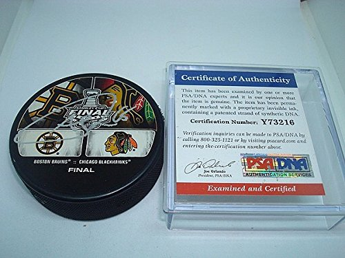 Andrew Shaw Signed Chicago Blackhawks 2013 Stanley Cup Hockey Puck - PSA/DNA Authenticated