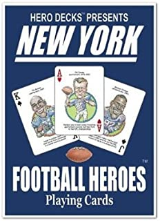 product image for Channel Craft Hero Decks - New York Giants - Playing Cards
