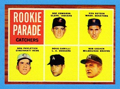 Bob Uecker 1962 Topps Baseball Rookie Reprint Card (Braves) (Cardinals) Bob Uecker Baseball