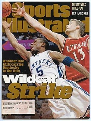 SI: Sports Illustrated April 6, 1998 Wayne Turner, Basketball, Kentucky Wildcats