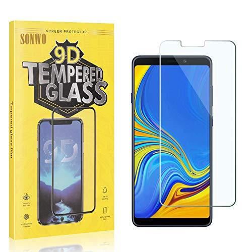 2 Stück Displayschutzfolie Kompatibel mit Galaxy A9 2018, SONWO Panzerglas Schutzfolie für Samsung Galaxy A9 2018...