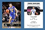 Lonzo Ball Rookie RC NEW! 2016-17 ACEO Sports Basketball Card UCLA Bruins Mint in a one touch magnetic case.