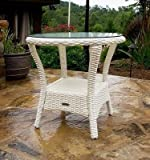 Bayview Side Table Finish: Magnolia