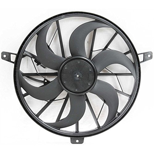 Cooling Cyl Radiator Fan 6 (Evan-Fischer EVA24572027072 New Direct Fit Radiator Fan Assembly for GRAND CHEROKEE 99-03 LIBERTY 02-05 6 8 Cyl)