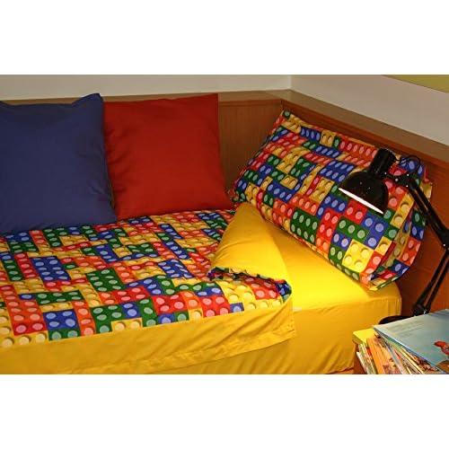 Sac couette LEGO para cama de 90x190/200