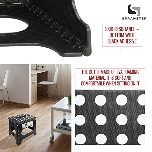 Super Strong Folding Step Stool 11 Quot Height Holds Up To