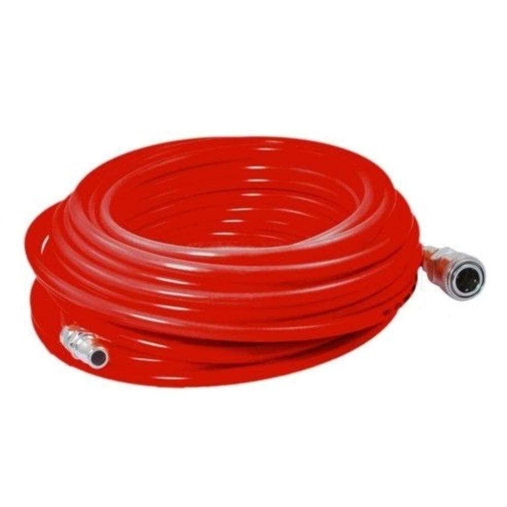 compresor Alargador de tubo de aire comprimido de 15 metros con conexiones r/ápidas