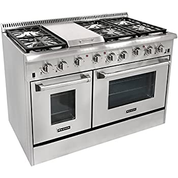 Amazon Com Thor Kitchen Hrg4804u 6 Burner Gas Range With