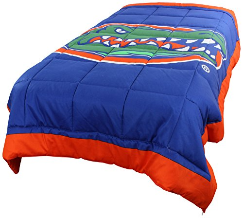 College Covers Florida Gators 2 Sided Reversible Comforter, Full