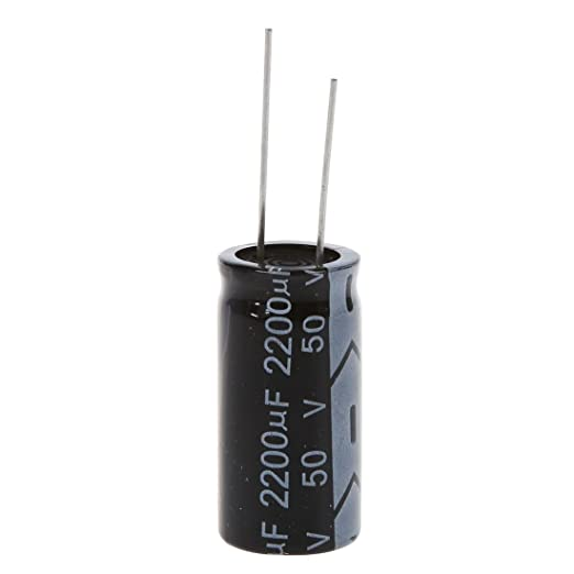 R SODIAL 100 Pcs 1uF 50V 5 x 11mm Radiaux Condensateurs Electrolytiques en Aluminium