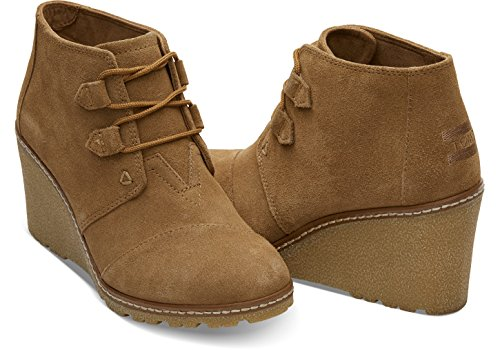 TOMS Women's Desert Wedge Casual Shoe  US, )