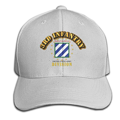 3rd Infantry Division Rock of The Marne Adjustable Trucker Baseball Cap Gray