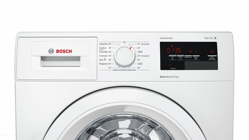 Bosch Serie 6 WAT28321 Independiente Carga frontal 7kg 1397RPM A ...