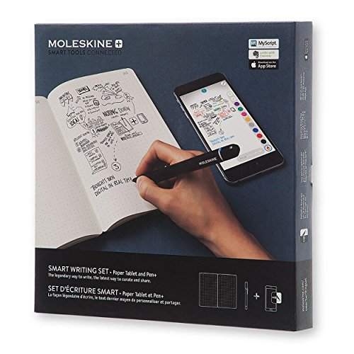 Moleskine smart writing set notebook with smart pen (PTSETA) by Moleskine