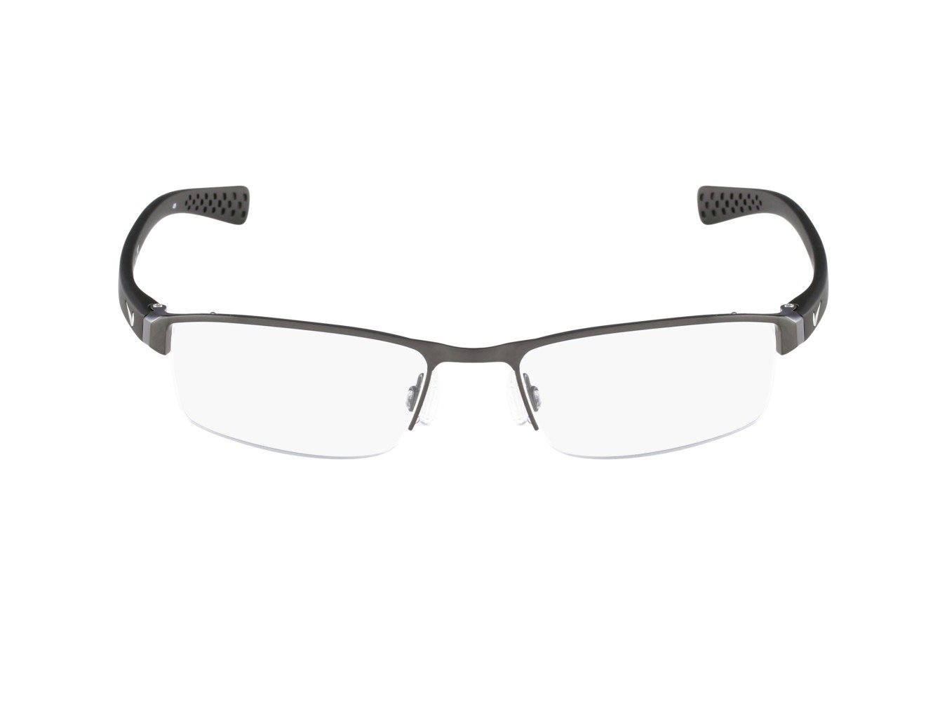 Nike Eyeglasses 8095 060 Brushed Gunmetal Demo 50 17