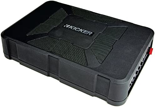Kicker 11HS8 Hideaway – Easy to install car subwoofer