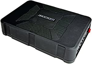 Kicker 11HS8 Hideaway Compact 8in Powered HS8 Sub Box (Renewed)
