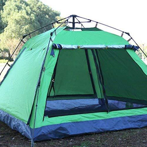 JIE Guo Outdoor Products Outdoor automatische Camping Zelte, 3-4 Personen multifunktionale Zelt, Mesh atmungsaktive Belüftung Anti-Mosquito, Tragbare Zelte