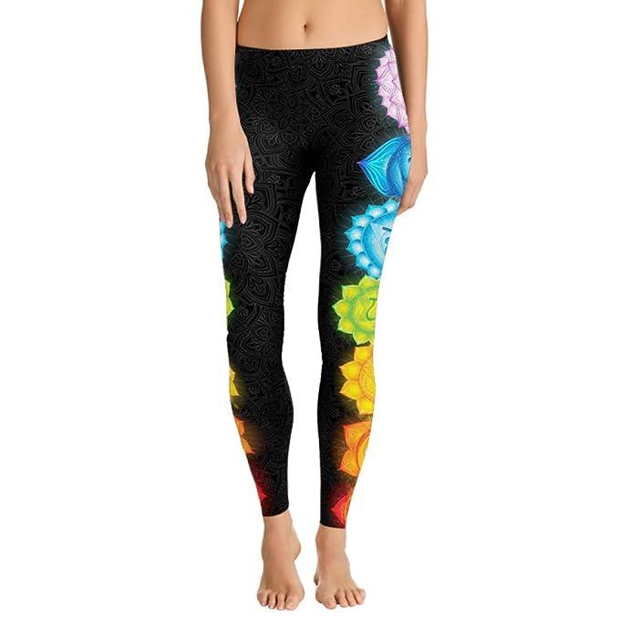 Lotus Leggings De Mandala Épais Pantalon Tissu Style Floral Qqaazz n0w8kOP