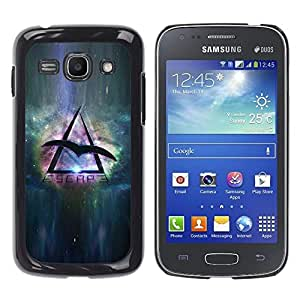 Stuss Case / Funda Carcasa protectora - Space Travel Eagle Universe Triangle Symbol - Samsung Galaxy Ace 3 GT-S7270 GT-S7275 GT-S7272