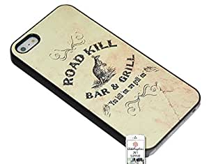Case for Apple iphone 6 plus Road Kill Road Kill Kangaroo Australia Scenic Vintage Old Paper Printing Bar / Grill Bar And Grill You Kill em We Kill em Be aware careful Scared Animal Love Fun Message Case Message Drawing Idea Writing Trendy Vintage Duraterm Te