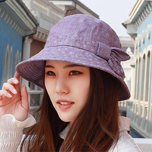 XINQING-MZ Hat the girl torn pieces of cloth cap basin cap fisherman hat hats low, visor visor mother cap, -