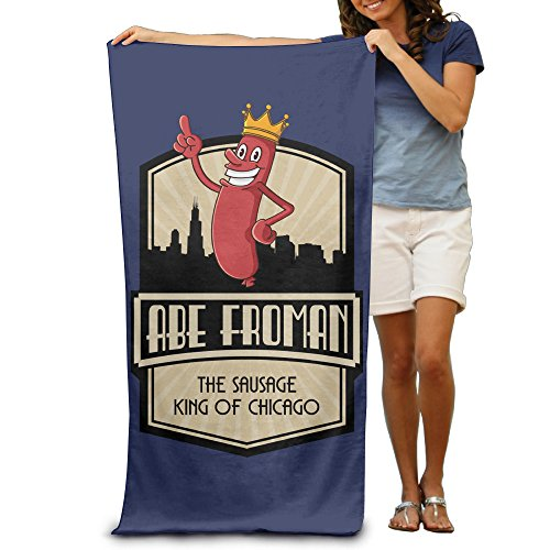 [Satain Ferris Abe Froman The Sausage King Of Chicago Adult Softness Beach Or Pool Bath Towel 31.49 51.18] (Abe Froman Costume)