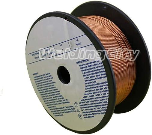 0.6mm WeldingCity ER70S-6 ER70S6 Mild Steel MIG Welding Wire 11-Lb Spool 0.023