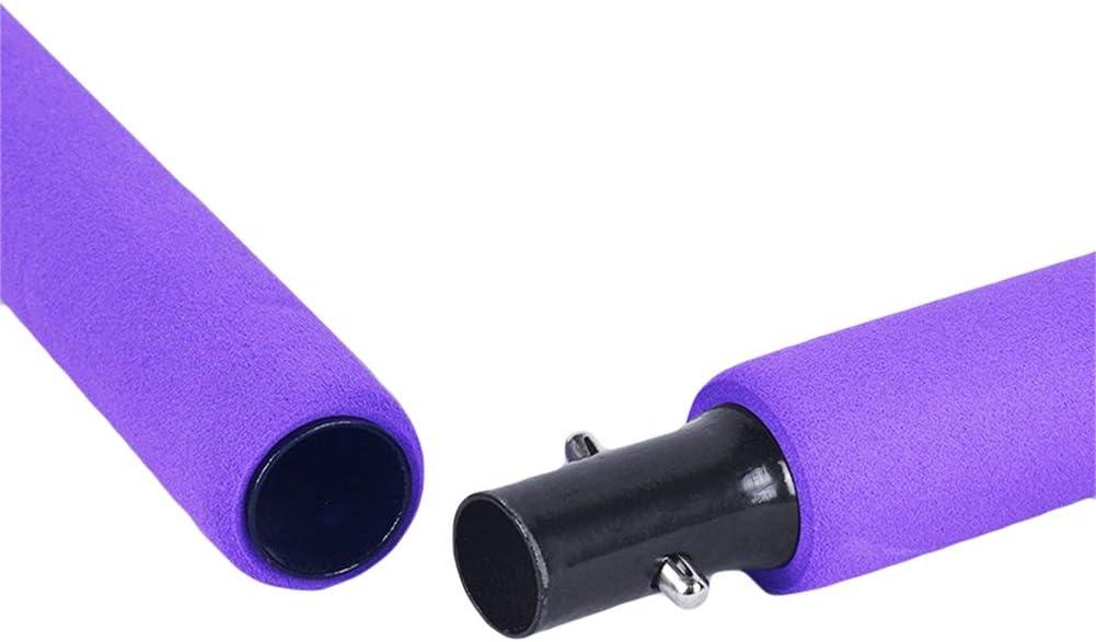 Exercice de Yoga Pilates Bar avec B/âton de Yoga Pilates Foot Loop Barre de Tonification de lentra/înement Corporel Total ZAVAREA Pilates Bar Kit Portable avec Bande de R/ésistance