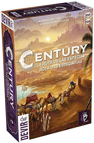 Devir Century, La Ruta de Las Especias (BGCENT): Amazon.es: Juguetes y juegos