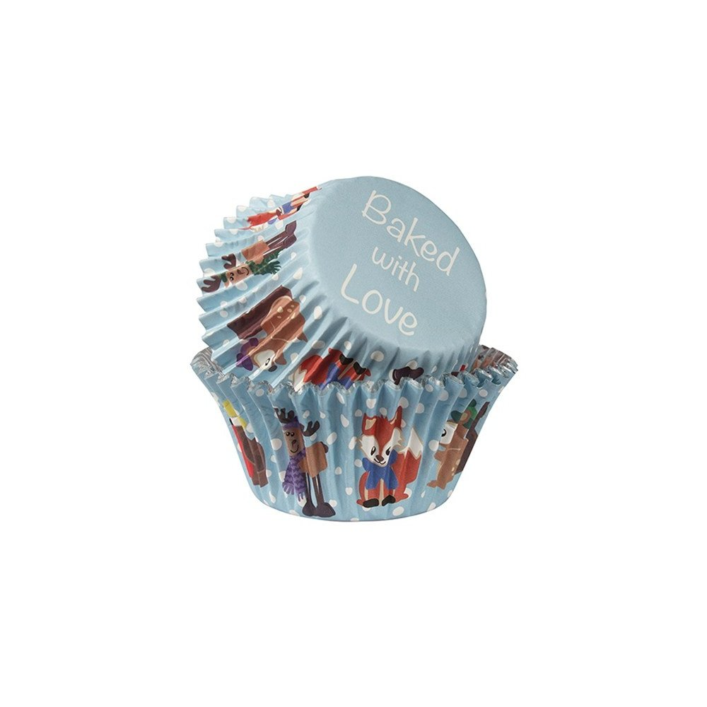 Baked With Love Winter Friends Cupcake Cases - Pack of 25 Culpitt