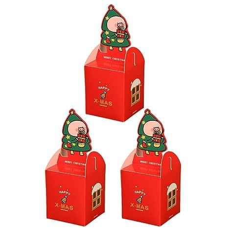 Wa 3X Cajas de Regalo Caja de Dulces Caja de Papel de Regalo para