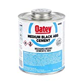 Oatey 30902 ABS Medium Cement, Black, 32-Ounce