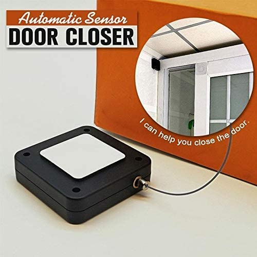 Automatically Close All Doors Self Closing Door with Drawstring for Internal Home Outdoor Iron Door AIAIⓇ Punch-Free Automatic Sensor Door Closer Suitable for Home Office Bedroom