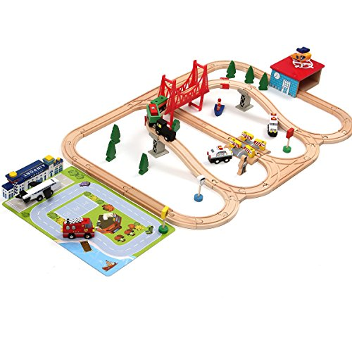Airport-Wooden-Train-Set-iPlay-iLearn-wooden-railway-airport-set