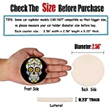 """Small 2.56"""" Absorbent Car Coasters 2 Pack, Auto"""