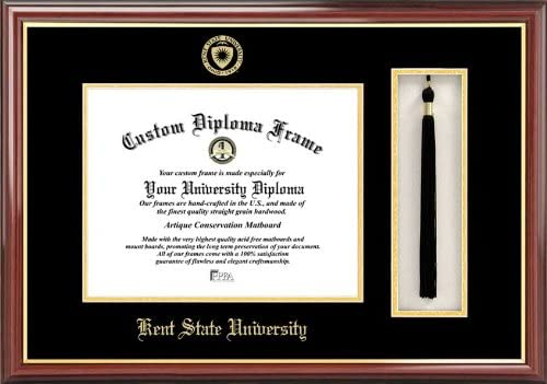 Campus Images Kent State University Tassel Box and Diploma Frame