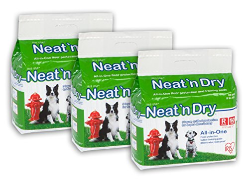 - IRIS Neat 'n Dry Premium Pet Training Pads, Regular,  17.5