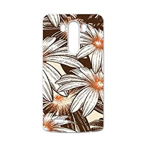 The Flowers Pattern Hight Quality Plastic Case for LG G3
