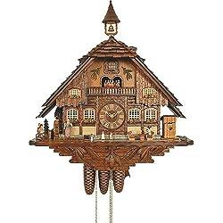 Cuckoo Clock 8-day-movement Chalet-Style 70cm by Anton Schneider