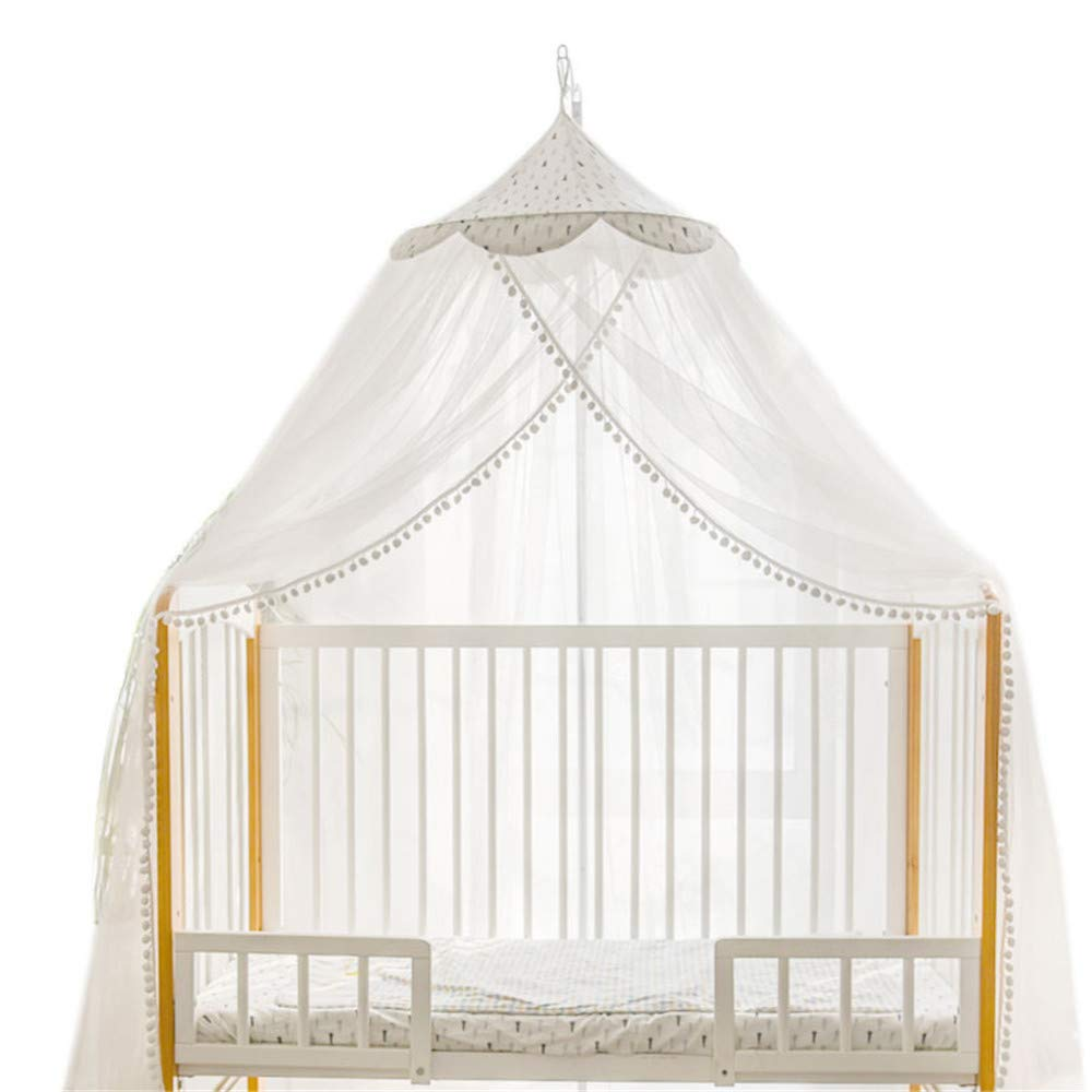 Crib Mosquito net Child with Support Mosquito net Baby Newborn Mosquito Cover Princess Style Mosquito net Foldable Mosquito net