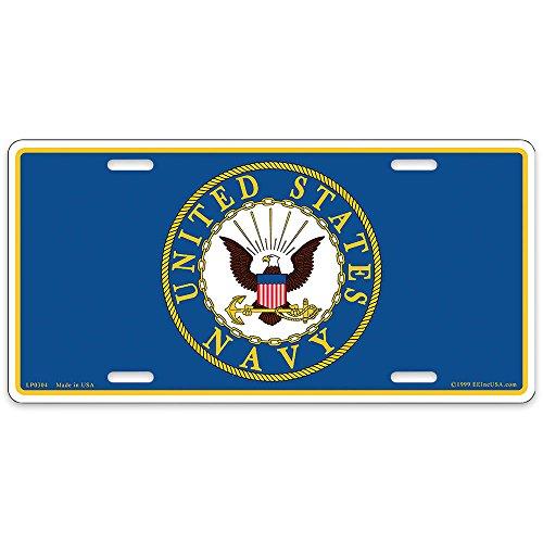 US Navy Logo License Plate ()