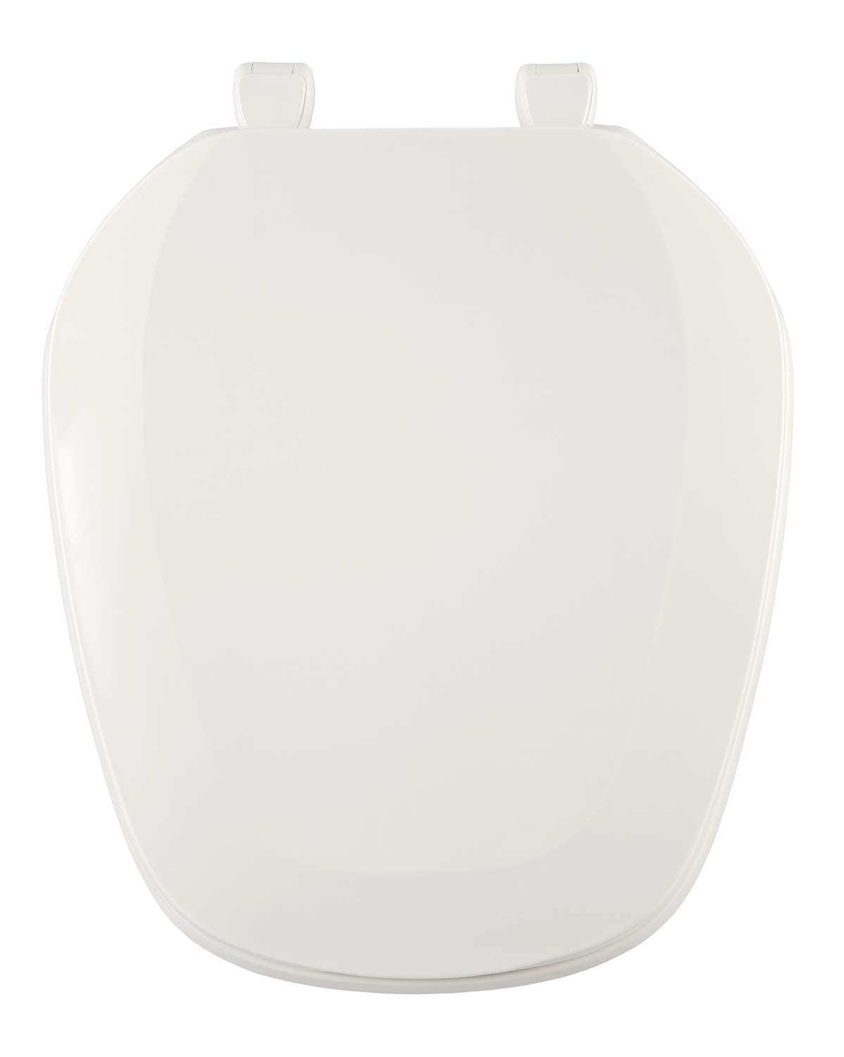 Centoco EMB201-001 Eljer Emblem Round Toilet Seat with Square Front, White by Centoco