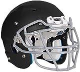 Schutt Vengeance DCT Youth Football Helmet (Matte Black, Large)