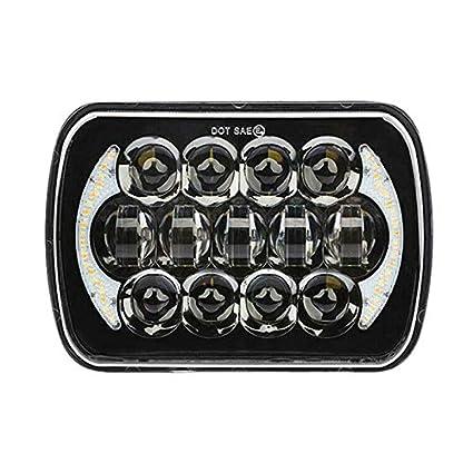 Domilay 210W 5X7 Pulgadas 7X6 Pulgadas Proyector LED Faro DRL con ...