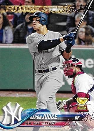 2018 Topps 1 Aaron Judge New York Yankees Baseball Card