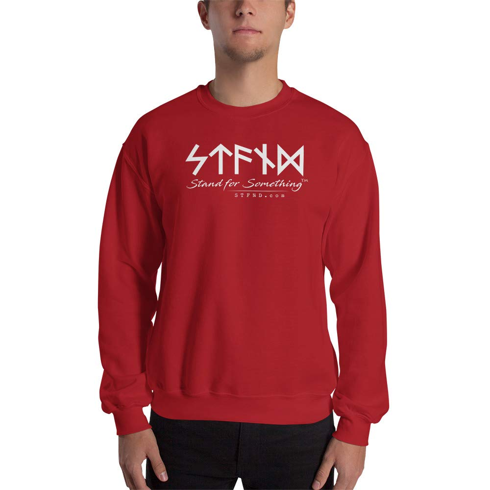 Unisex Sweatshirt Red STFND Full Logo